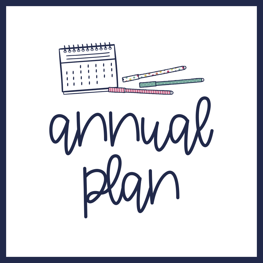 Annual Plan – October