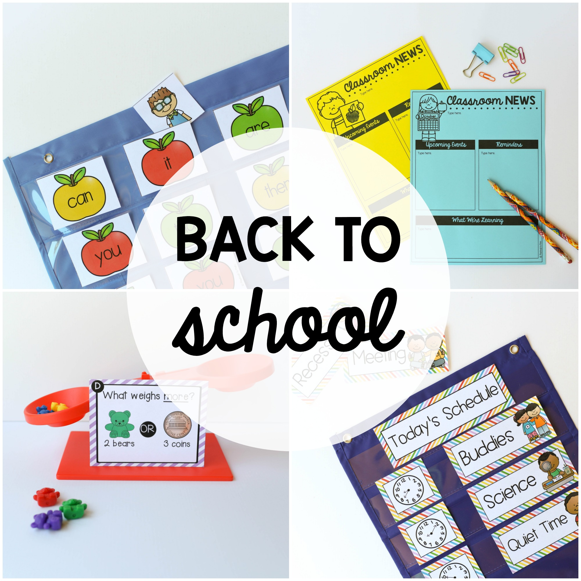August // Back to School