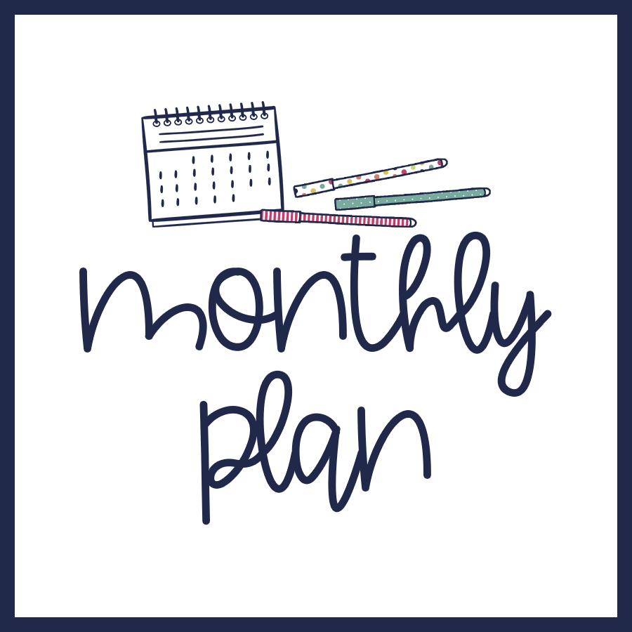 Monthly Plan – December