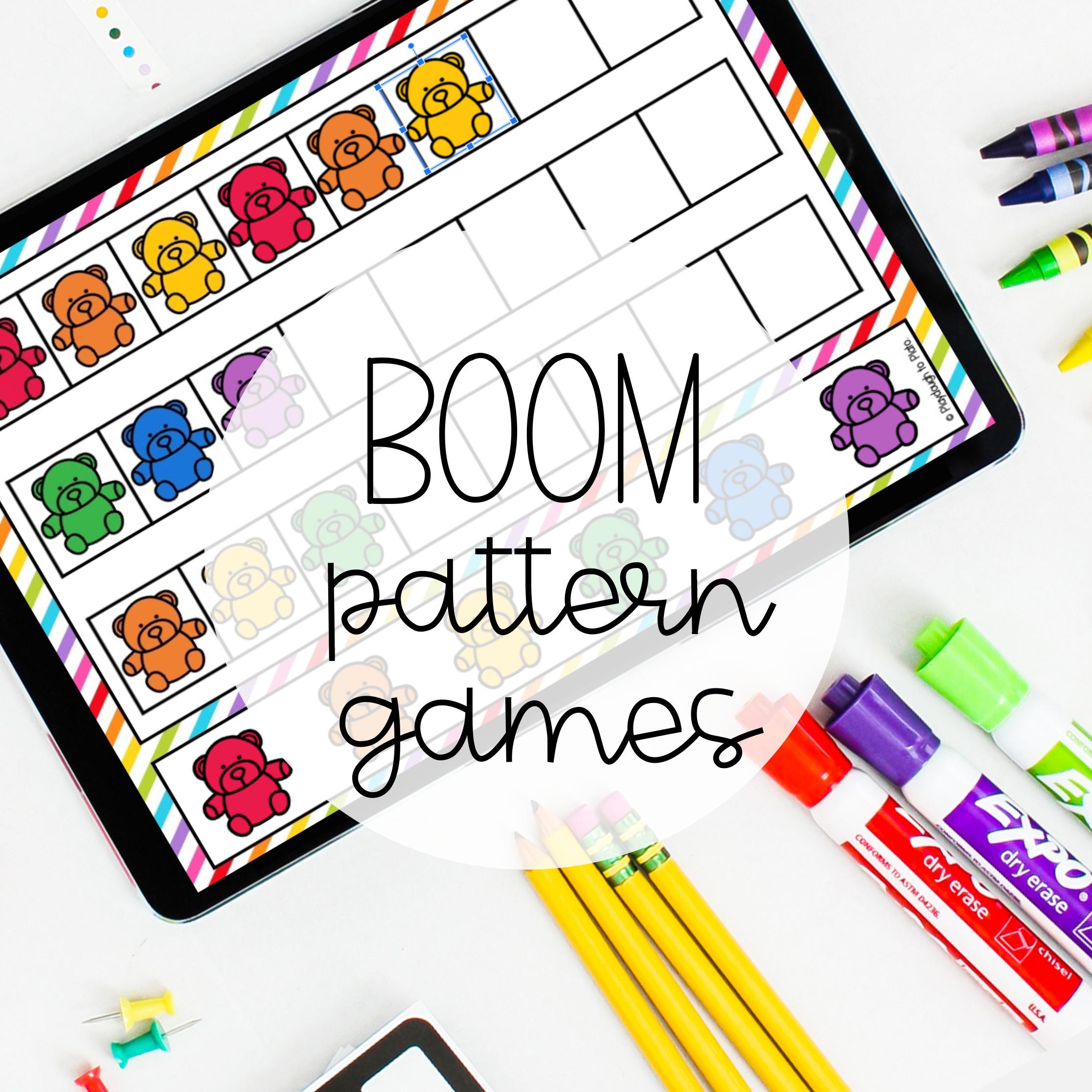 Pattern Boom Games