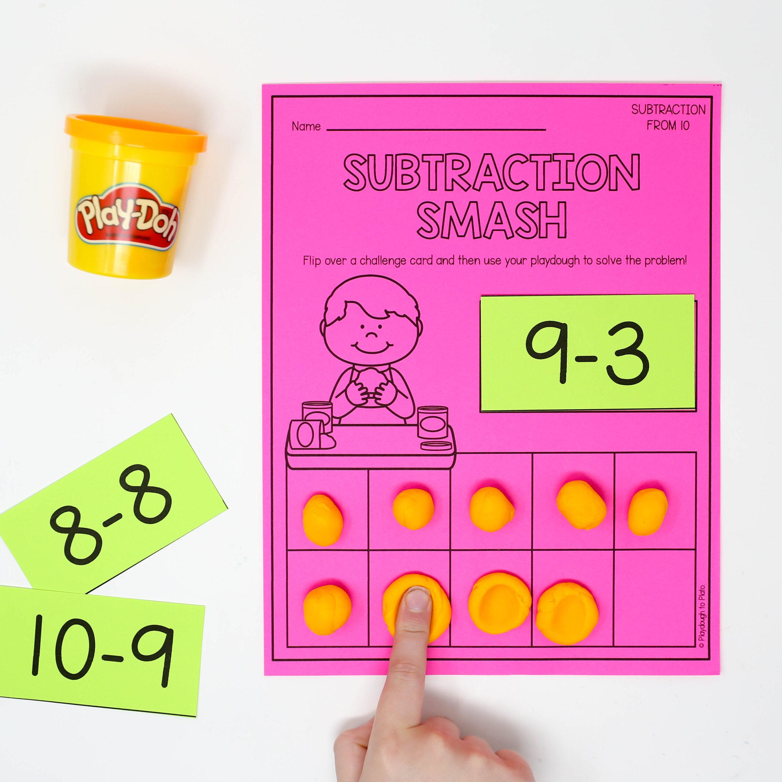 Subtraction Smash Mats