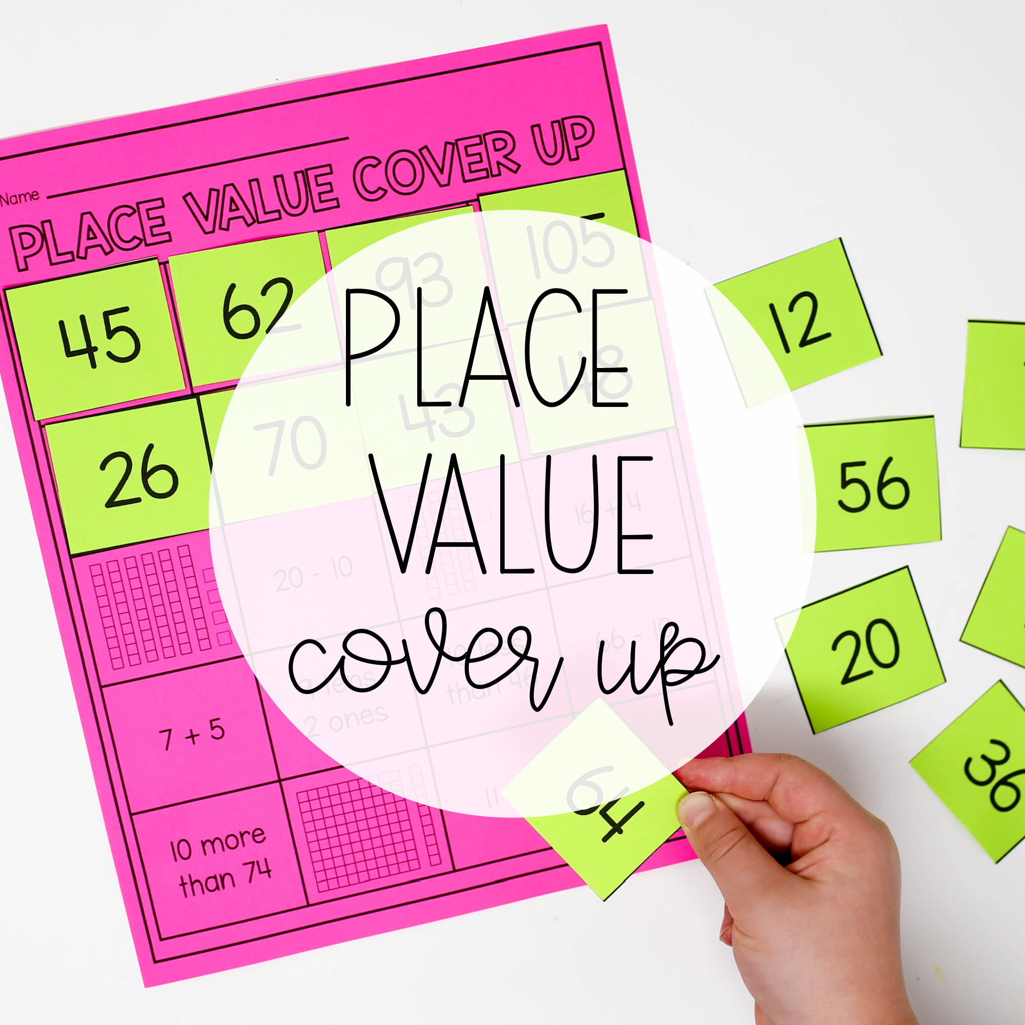 Place Value Cover Up