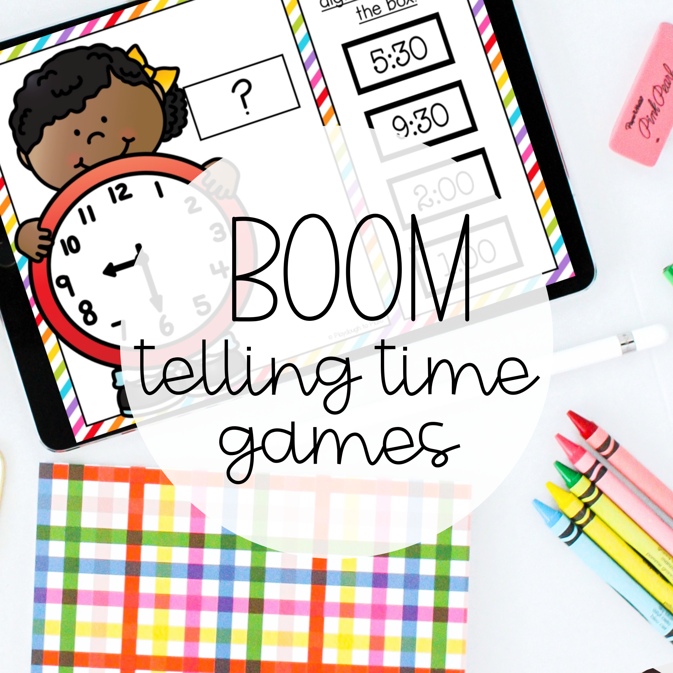 Boom Telling Time Games