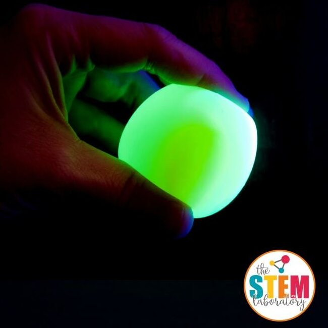 Glowing Bouncy Egg