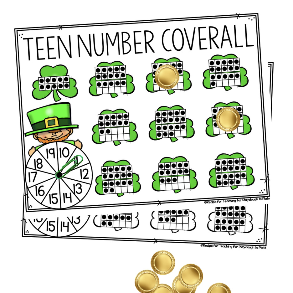 Shamrock Teen Number Coverall