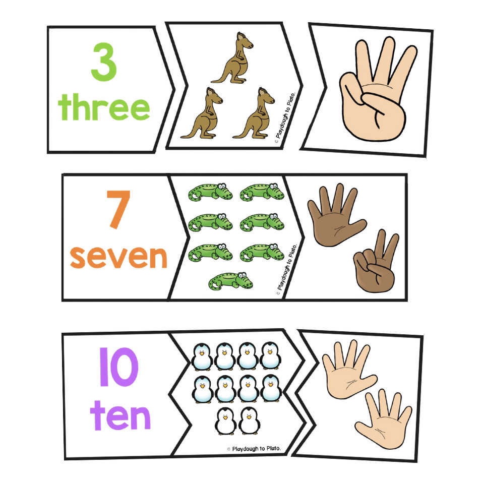 Zoo Number Puzzles