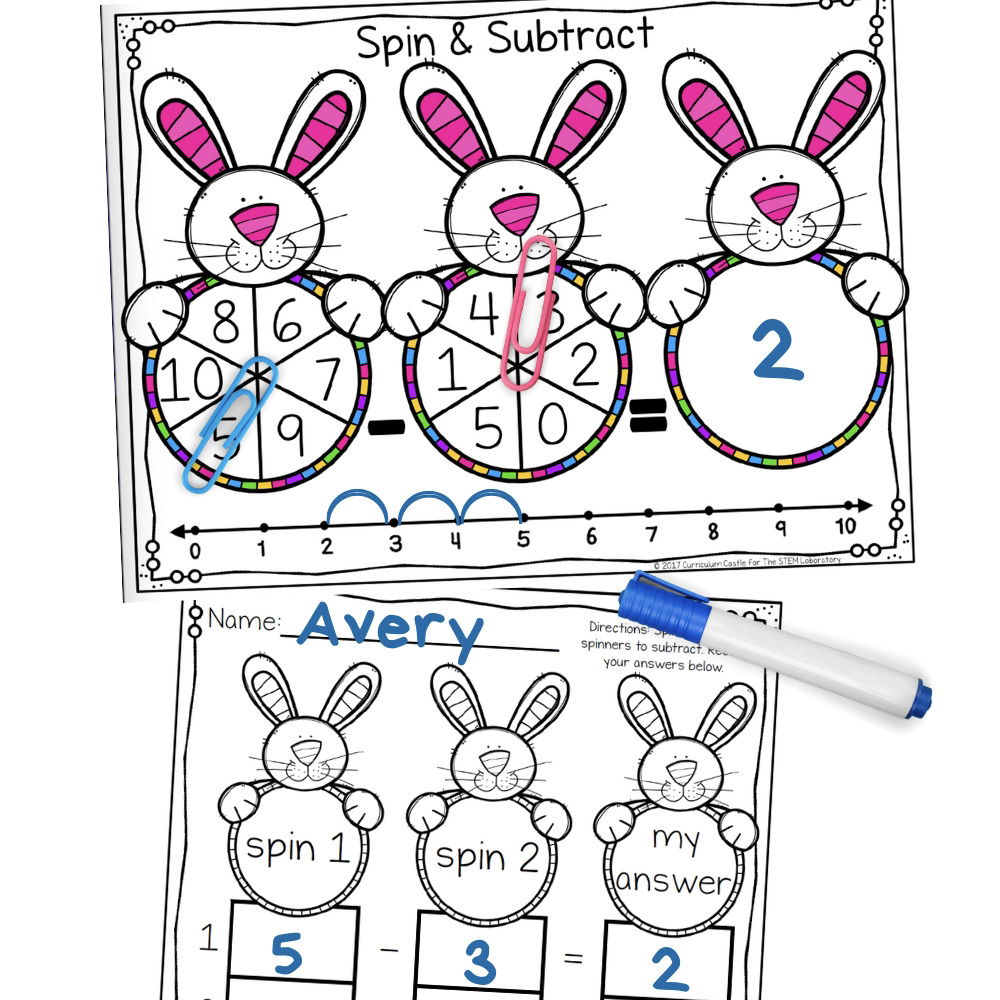 Bunny Spin and Subtract