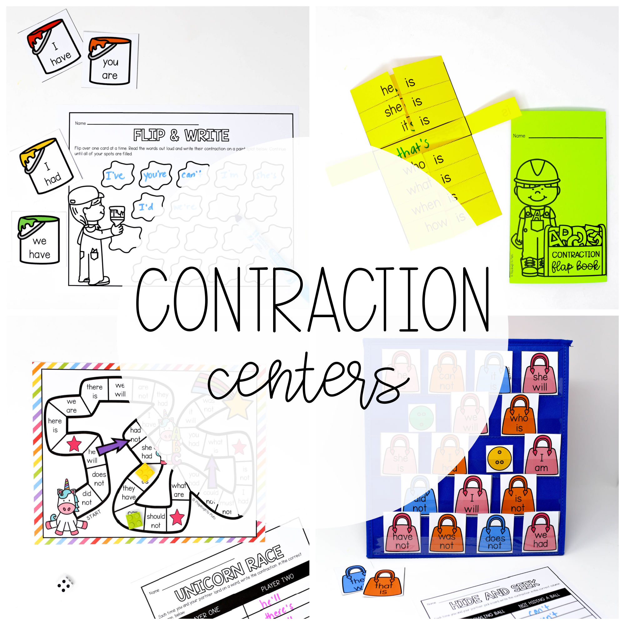 Contraction Centers
