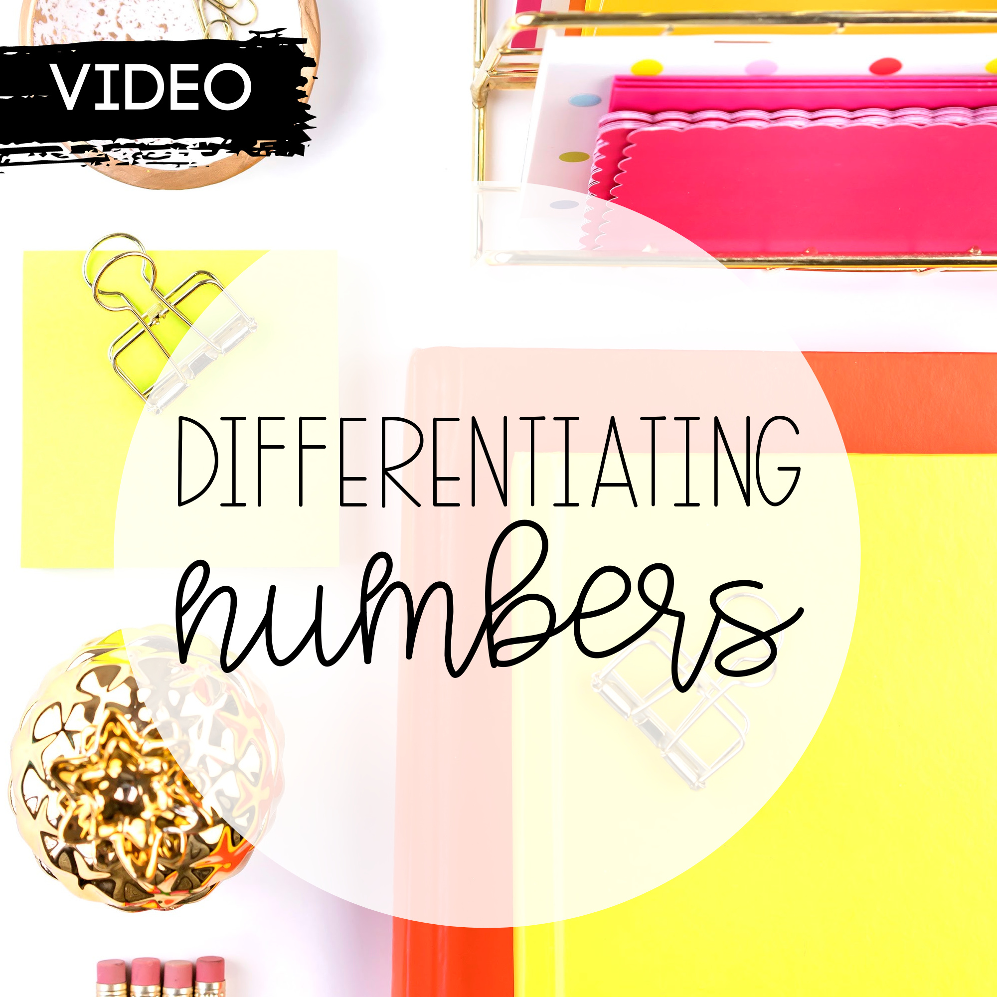 Differentiating Numbers