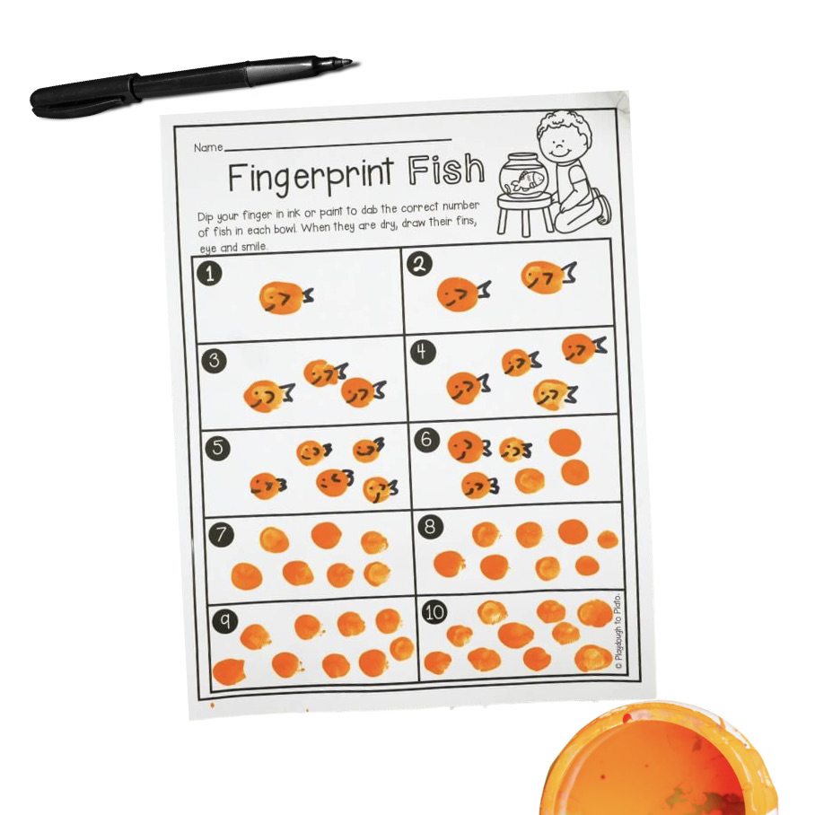Fingerprint Fish