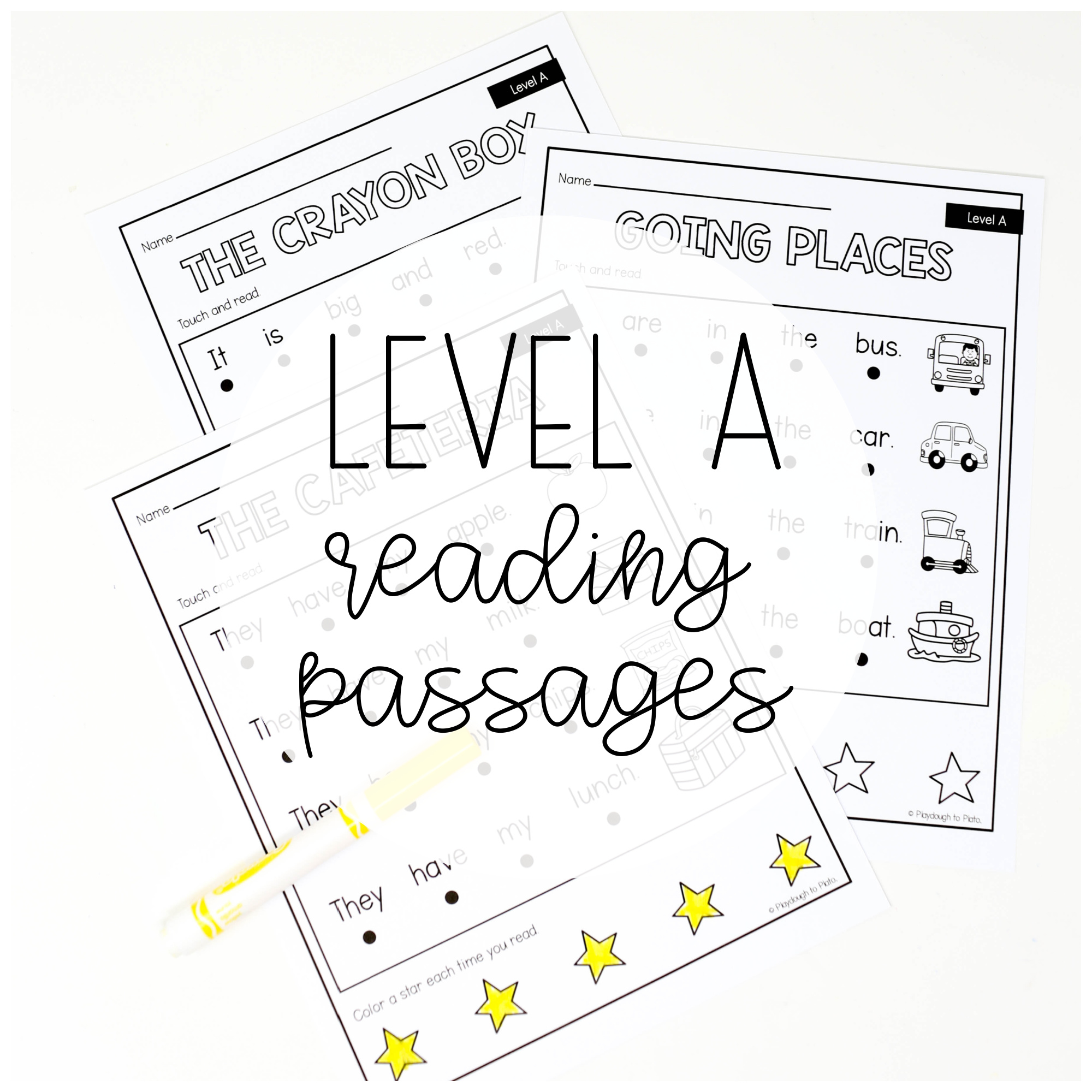 Level A Reading Passages