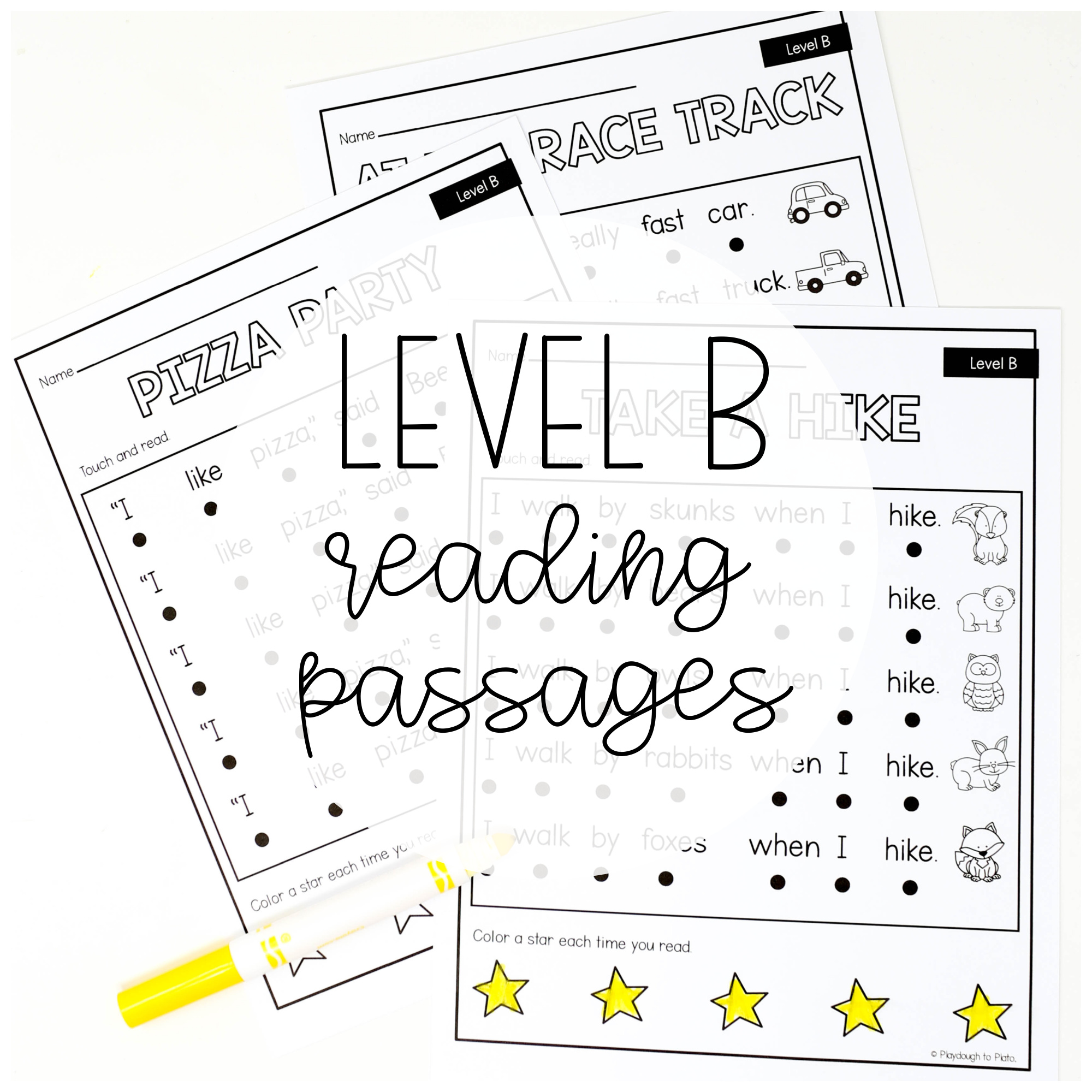 Level B Reading Passages
