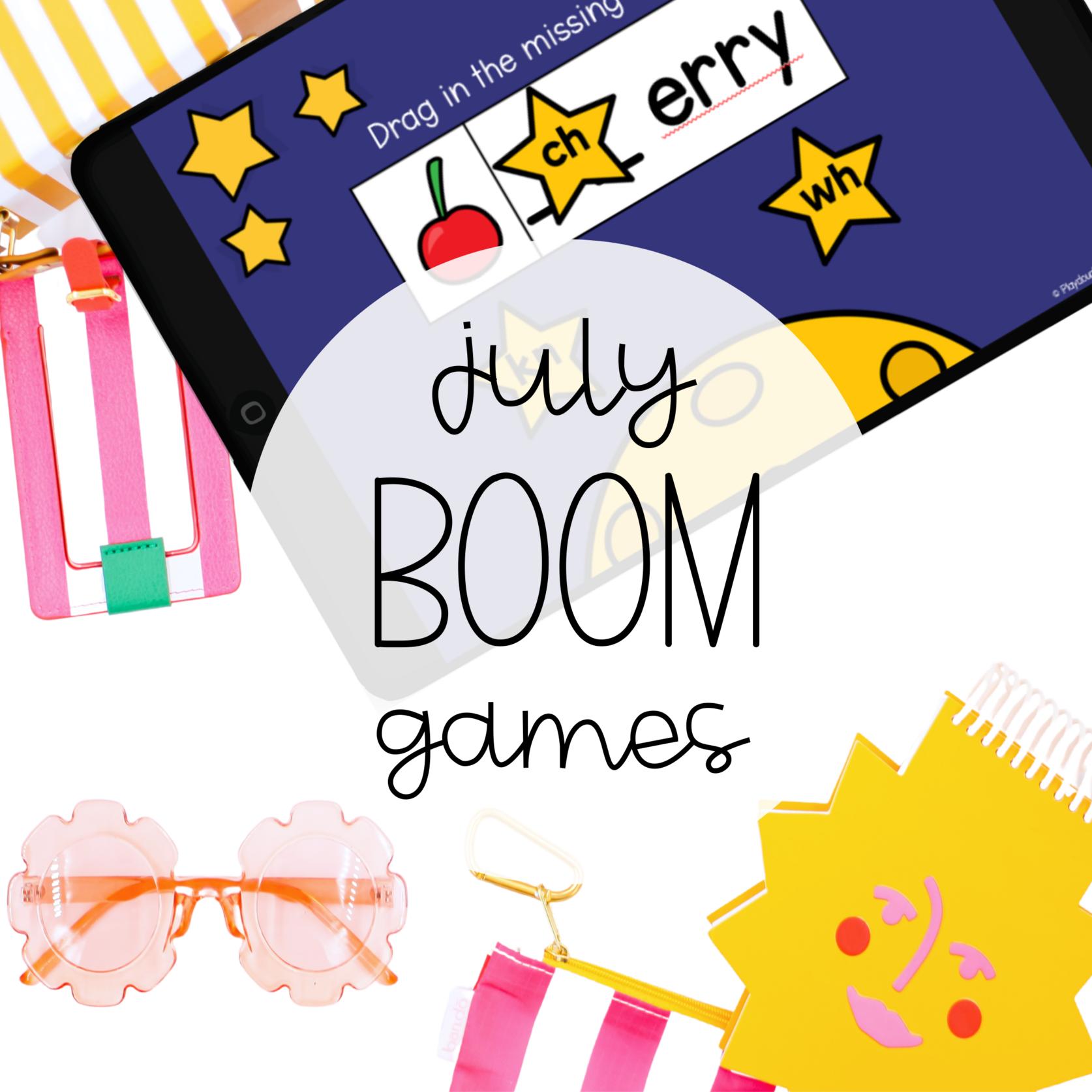July Boom Games
