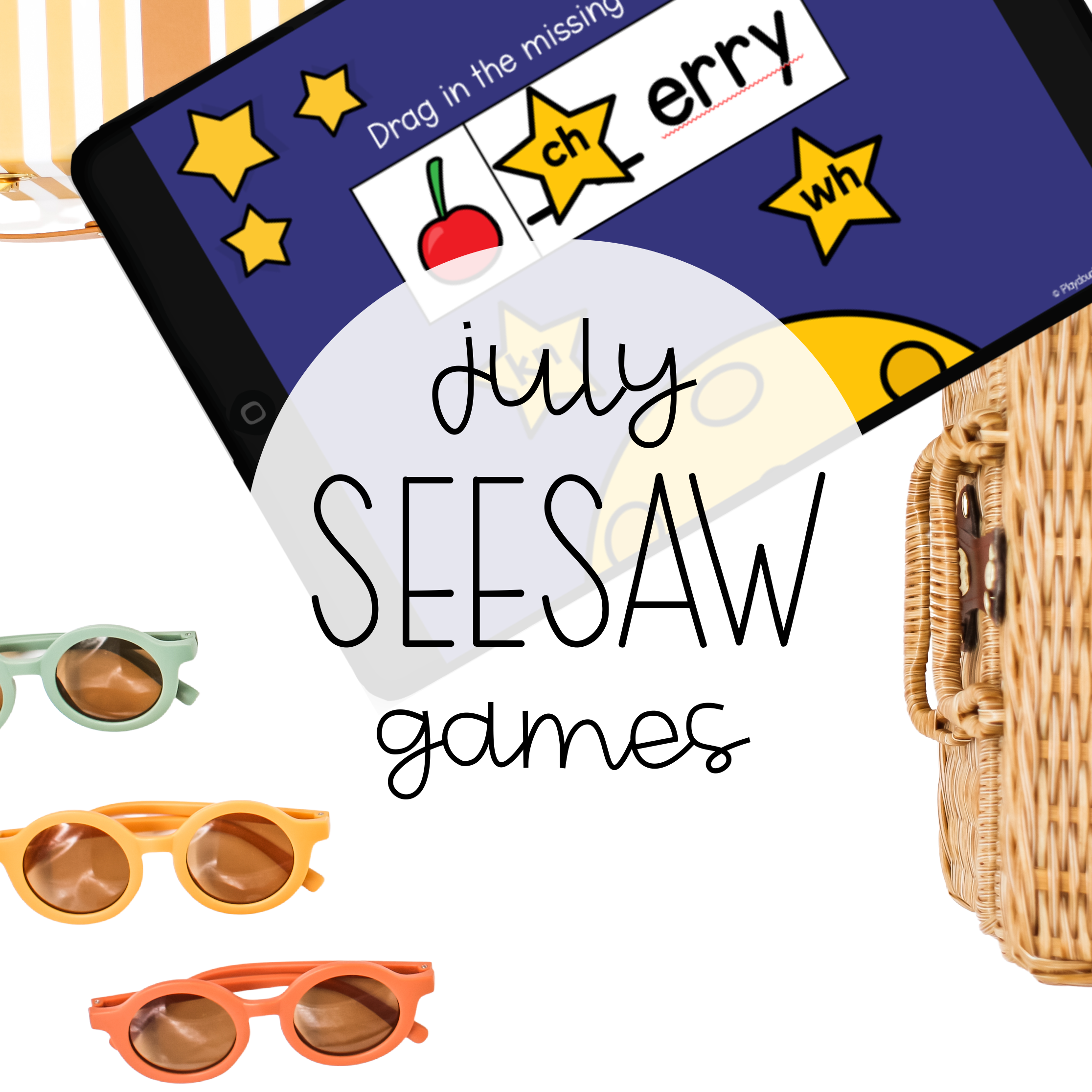July Seesaw Games