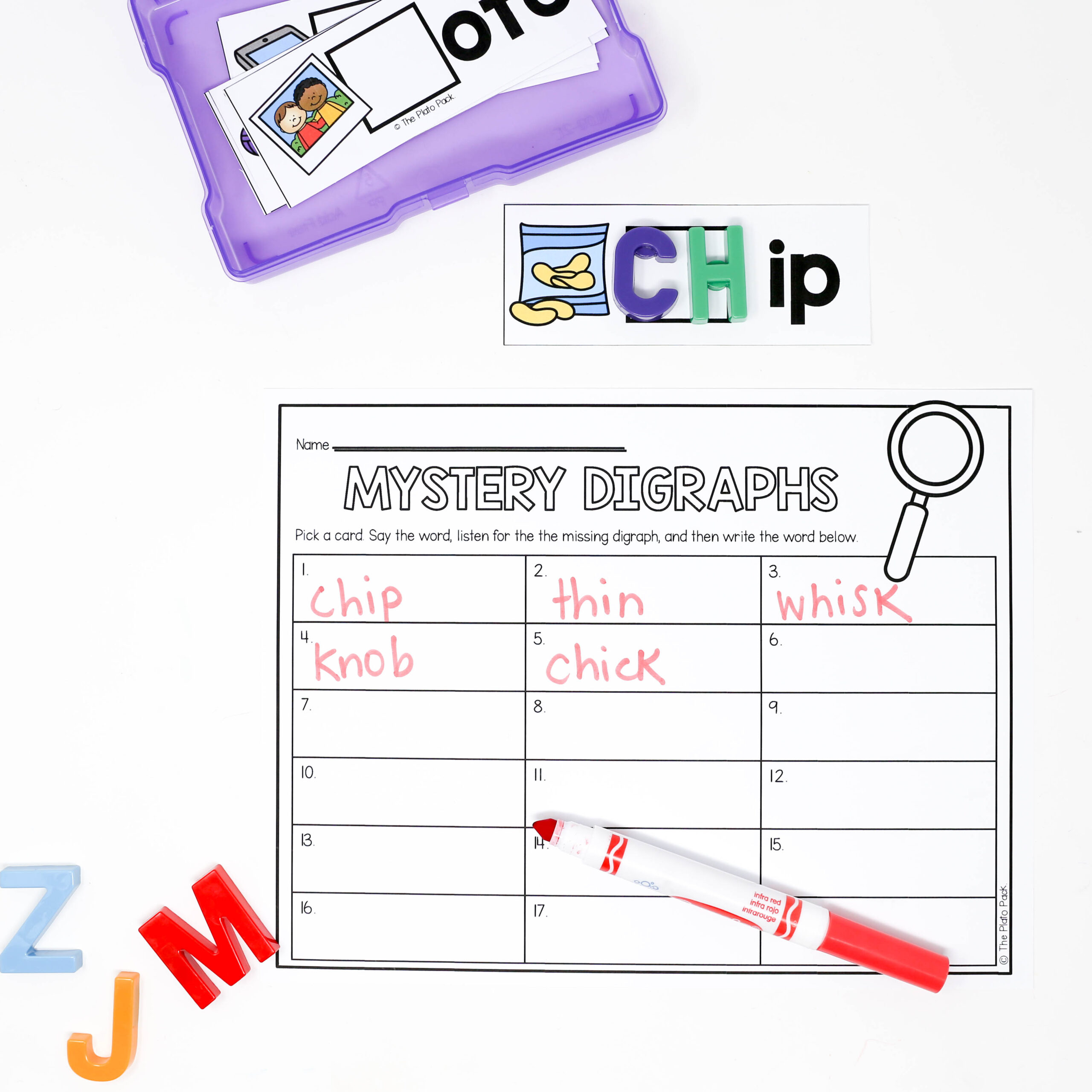 Mystery Digraphs