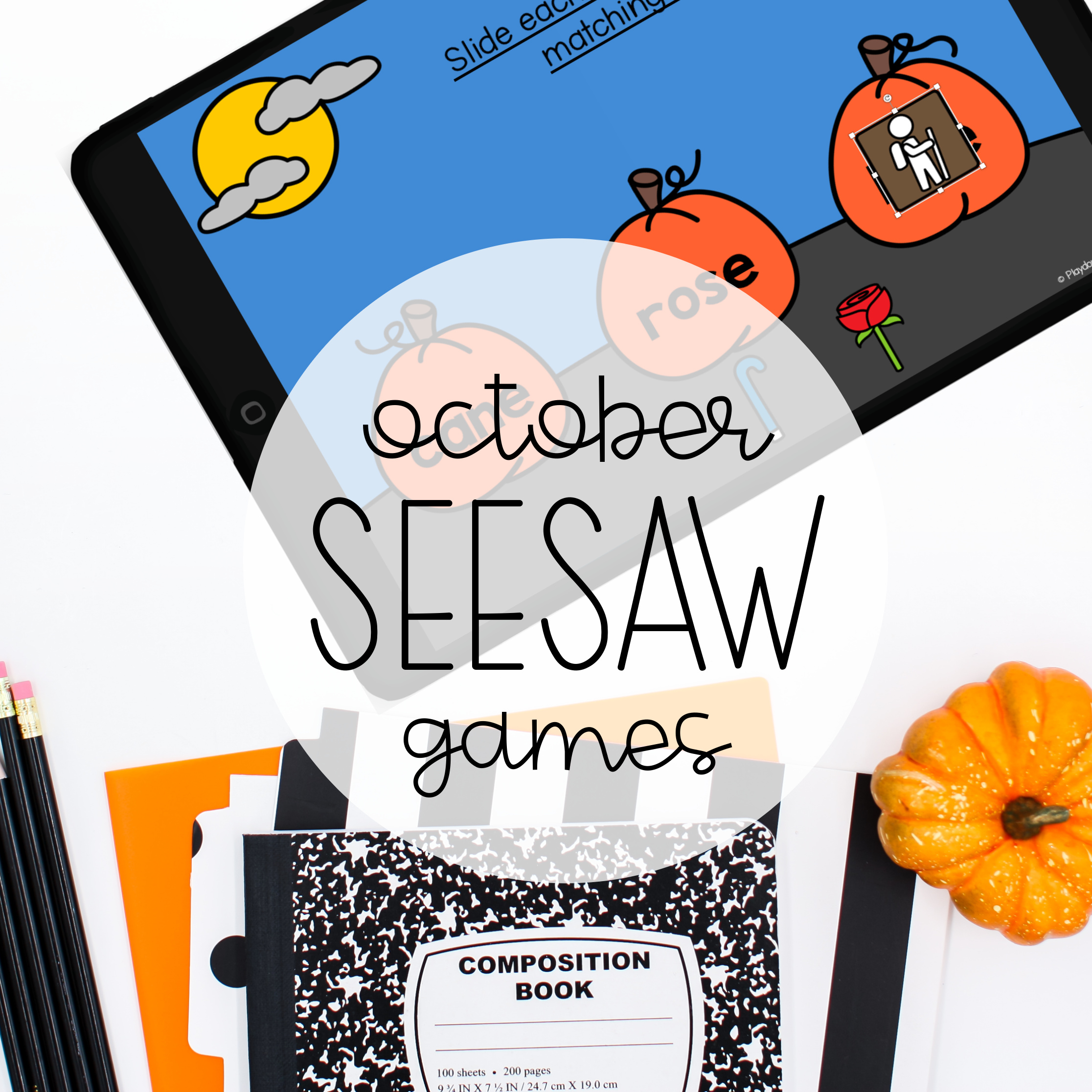 October Seesaw Games