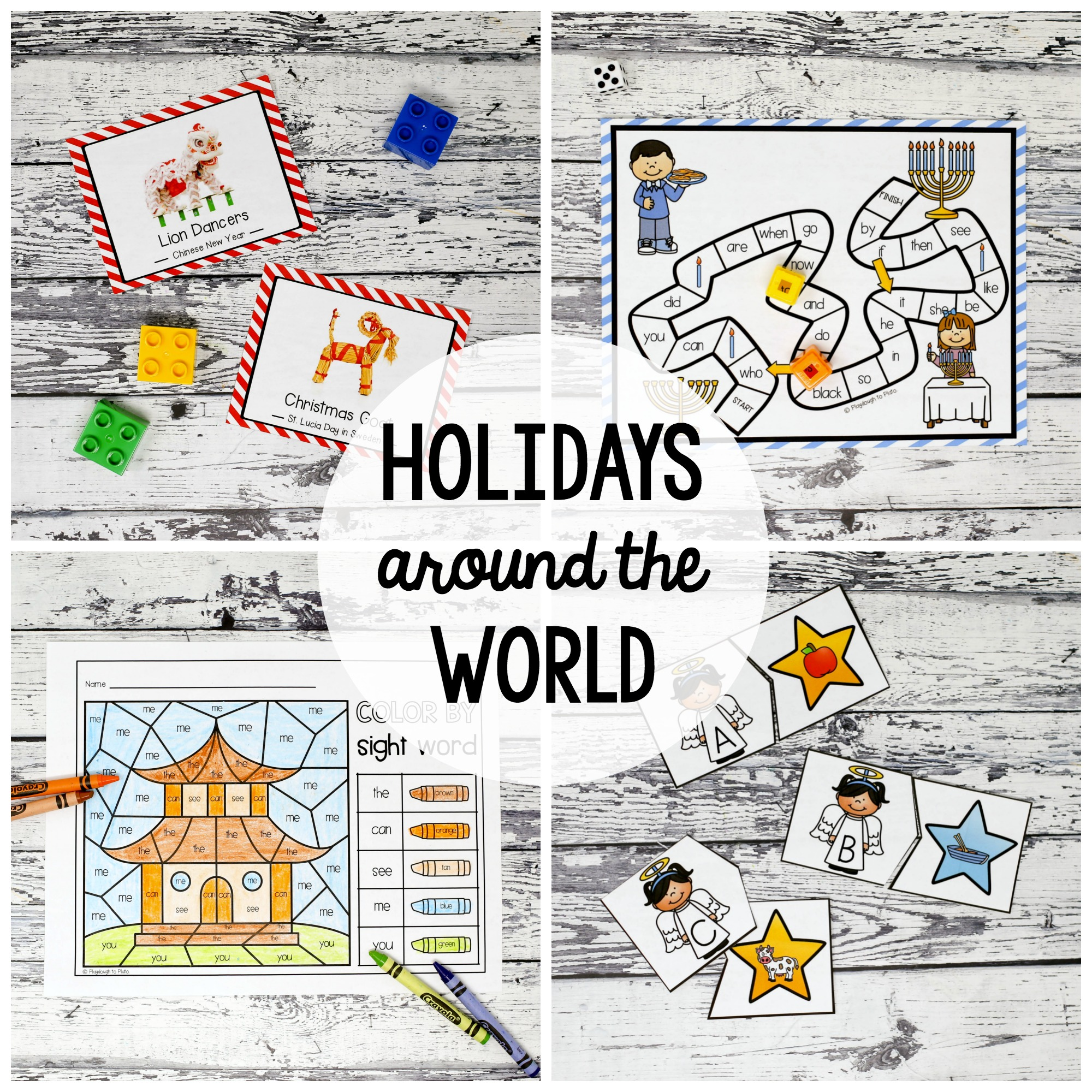 December // Holidays Around the World